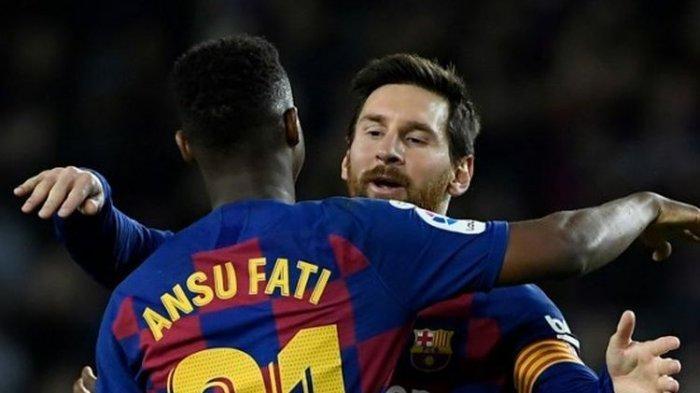 Ansu Fati Vs Lionel Messi: Perbandingan Bintang Muda Pemecah Rekor Barcelona dengan Legenda Camp Nou