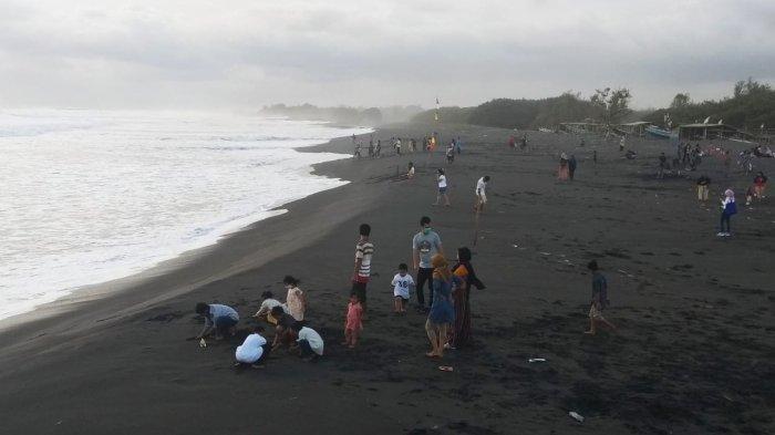 Jumlah Wisatawan di Pantai Glagah Kulon Progo Menurun Selama Libur Natal dan Tahun Baru Ini