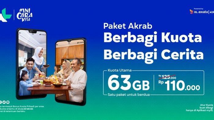 XL Axiata Luncurkan Paket Keluarga 'AKRAB'