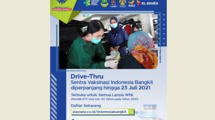 XL Axiata Perpanjang Sentra Vaksinasi Indonesia Bangkit