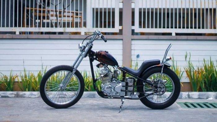 Yamaha Scorpio Skinny Chopper Tampil Semakin Garang