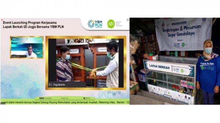 PLN Gandeng IZI Salurkan Bantuan Program Lapak Berkah