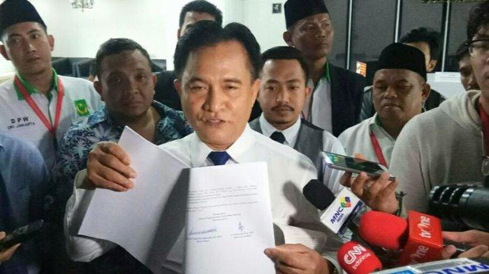 Yusril Tetap Yakin MA akan Kembali Tolak Gugatan Prabowo-Sandiaga