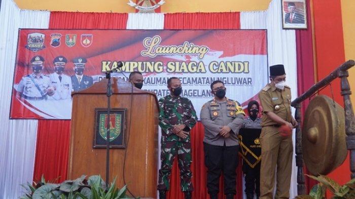 Cegah Penyebaran Covid-19, Pemkab Magelang Resmikan Kampung Siaga Candi