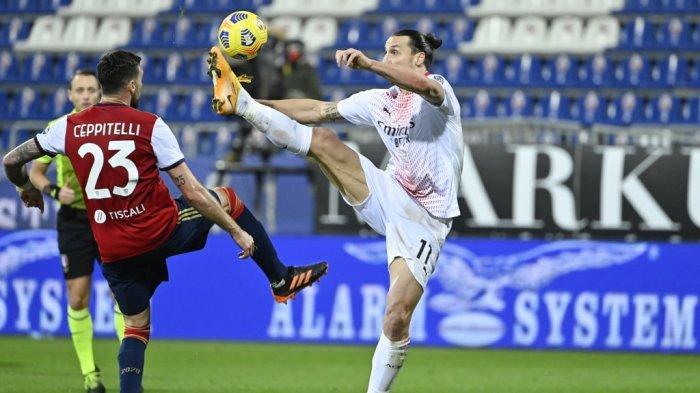 SIARAN Langsung AC Milan vs Cagliari, Link Streaming Liga Italia Malam Ini Pukul 01.45 WIB