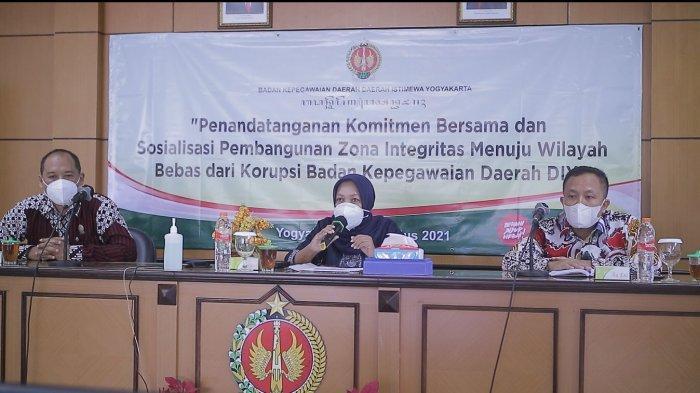 BKD DIY Siap Wujudkan Zona Integritas WBK