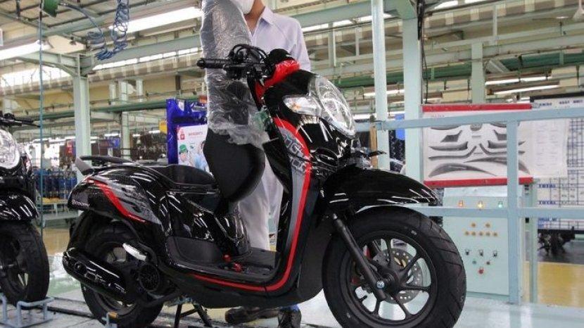 Harga Motor Bekas Honda Scoopy Keluaran Tahun 2014 2018 Mulai Rp11 Jutaan Tribun Jogja