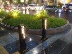 tiang-bollard-pedestrian-jalan-jenderal-sudirman-kembali-seperti-semula.jpg
