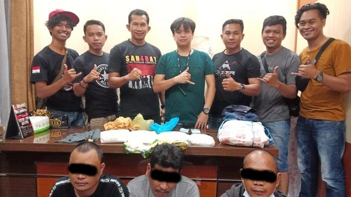 Tangkap Seorang WNA Negri Jiran, Polres Nunukan Beber Modus Operandi Kurir Sabu 3,5 Kg dari Malaysia