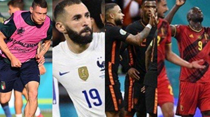 Prediksi Lengkap 4 Negara Unggulan Pemenang Euro 2020, Generasi Emas Belgia Akan Hadapi Portugal