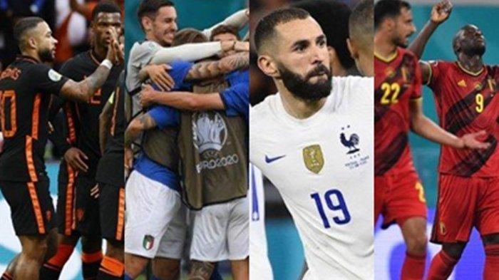 Belanda,Italia,Prancis & Belgia Kandidat Juara Euro 2020, Nasib CR7 dan Juara Bertahan Portugal?