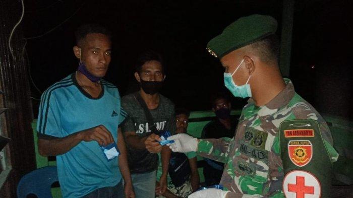 Lewat Jalur Tikus di Nunukan, Pekerja Migran Indonesia Diamankan TNI Penjaga Perbatasan RI Malaysia