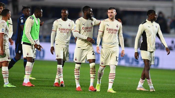 Hasil Liga Italia, AC Milan Bungkam Atalanta, Rossoneri Gusur Inter Milan di Klasemen