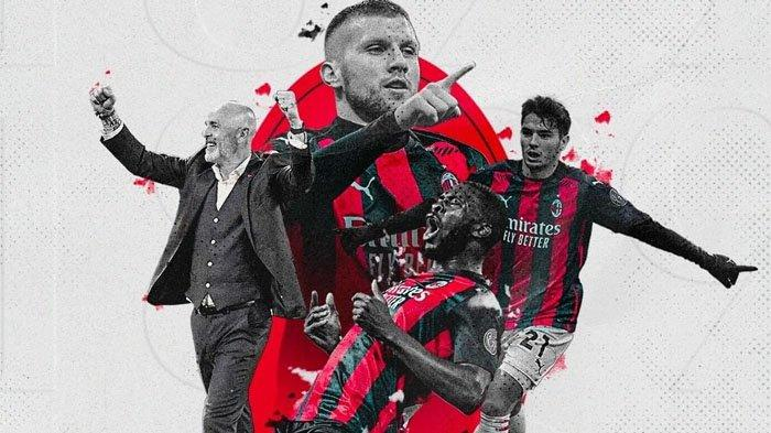 Hasil Liga Italia, AC Milan Mengamuk Bantai Tim Sekota Juventus 7-0, Ante Rebic Jadi Sorotan