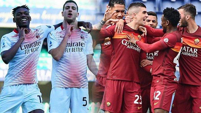 Klasemen Liga Italia, AC Milan Beri Tekanan ke Inter Milan, Juventus Mulai Terancam AS Roma