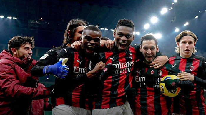 Hasil Coppa Italia, Diwarnai Comeback Ibrahimovic, AC Milan Lolos ke 8 Besar Lewat Drama Adu Penalti