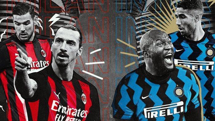 Lukaku dan Lautaro Bikin Ibrahimovic Geleng Kepala, Inter Milan Libas AC Milan di Liga Italia 3-0