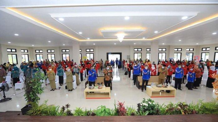 Wali Kota Tarakan dr. Khairul saat menyampaikan sambutan di acara peringatan Hari Tanpa Tembakau Sedunia, Senin (31/5/2021).
