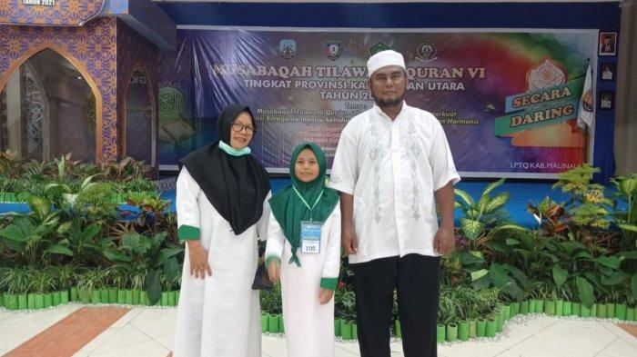 Mengenal Sosok Dibalik Juara Program Hafiz Indonesia 2020 Asal Malinau, Afiqah Adawiyah Hafal 10 Juz