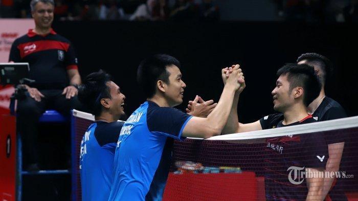 Live Streaming Semifinal Olimpiade Tokyo 2020 Sore Ini: Ahsan/Hendra Lawan Lee Yang/Wang Chi Lin