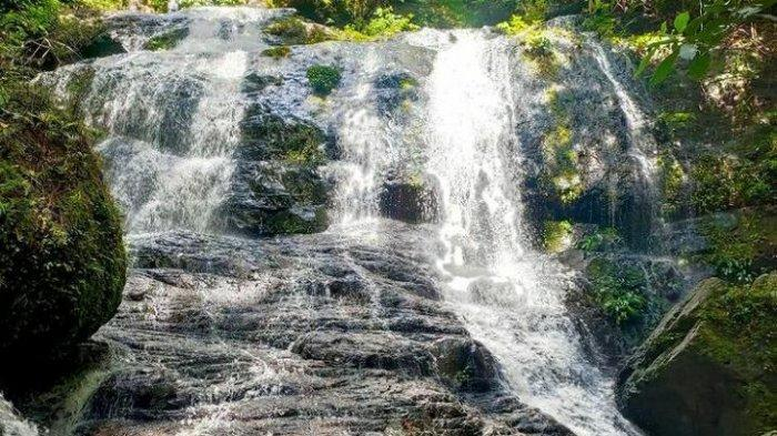 Air Terjun Gunung Rian, salah satu obyek wisata unggulan di Tana Tidung.