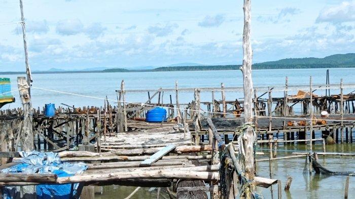 Akses Jembatan Petani Rumput Laut Putus, Warga Korban Kebakaran Rumah di Nunukan Minta Bantuan Pemda