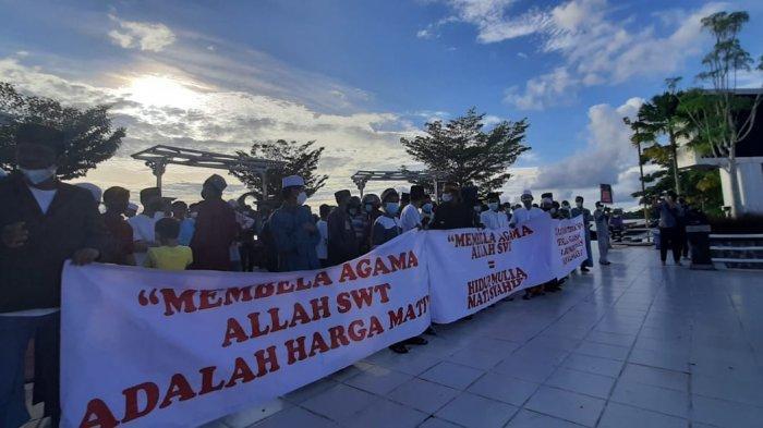 Kembali Turun ke Jalan, Aliansi Masyarakat Cinta Damai Kaltara Sebut Tuntutan Aksi Belum Dipenuhi