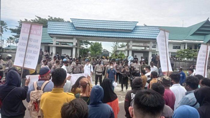 Soal Unjuk Rasa Tolak Hasil Seleksi Pegawai Honorer, Bupati Tunggu Informasi dari DPRD Malinau