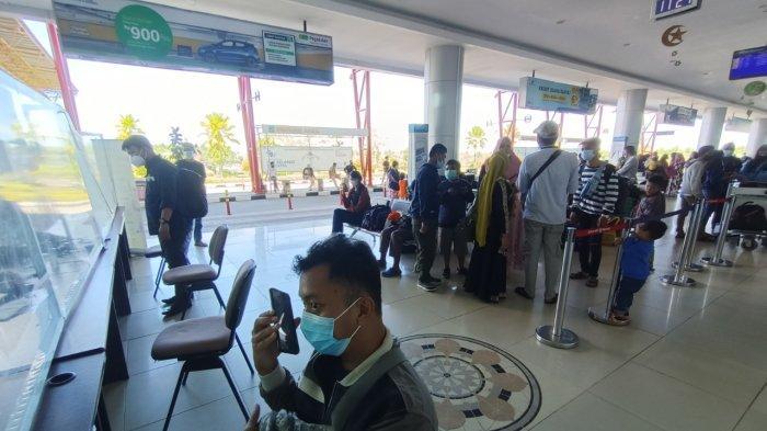 Aktivitas penumpang di Bandara Udara Juwata Tarakan.
