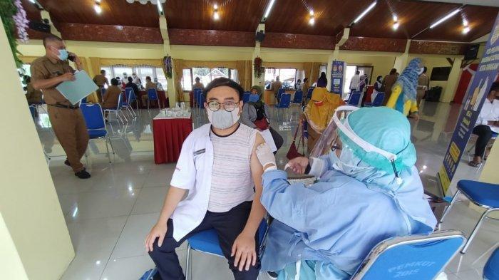 Vaksinasi Covid-19 Tahap Kedua Sementara Berjalan, PWI Tarakan Harap Ada Kuota Tambahan