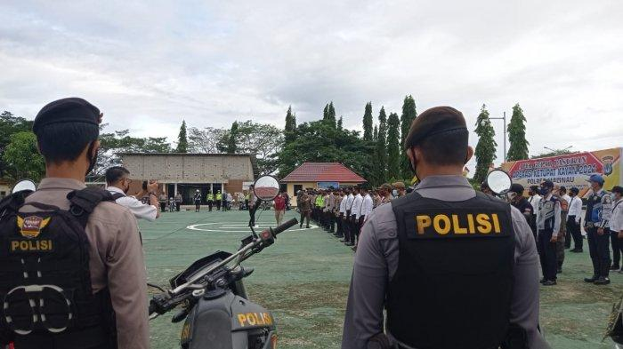 Pemerintah Melarang Mudik, Ratusan TNI Polri Jaga Jalur Masuk Malinau Selama Operasi Ketupat Kayan
