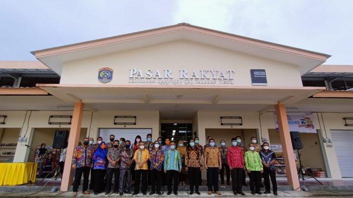 Area Pasar Rakyat di Kelurahan Kampung Empat Kota Tarakan nantinya akan menjadi Pasar Ramadan karena lokasinya dinilai luas.