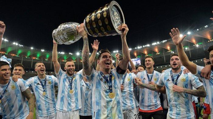 Lionel Messi Tak Cuma Bawa Argentina Juara Copa America, La Pulga Samai Prestasi Cristiano Ronaldo