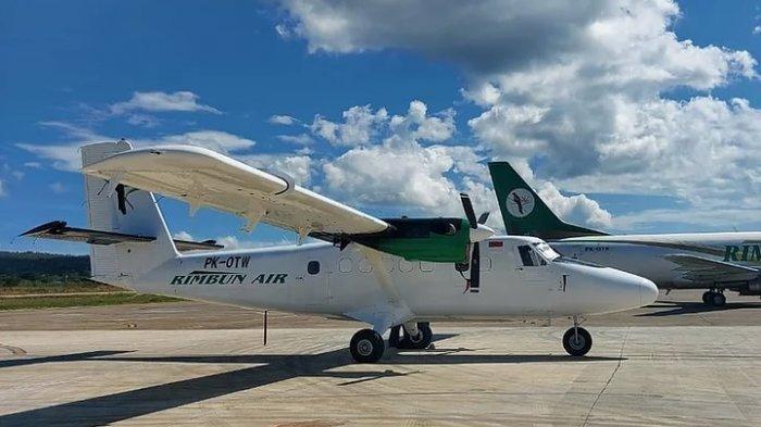 Profil Pesawat Rimbun Air yang Hilang Kontak setelah Lepas Landas dari Bandara Nabire