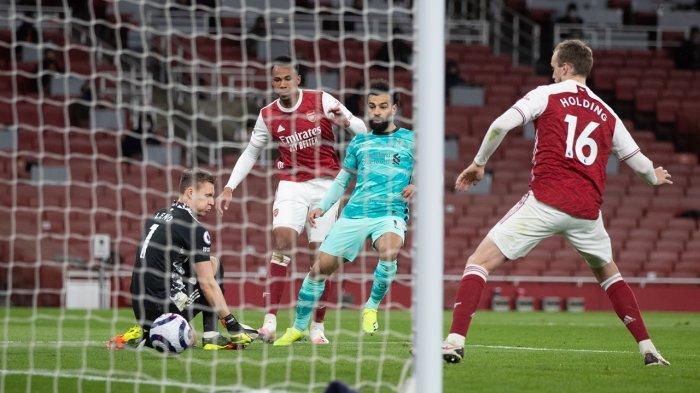 Hasil Liga Inggris, Liverpool Bantai Arsenal di Emirates, Jota Cetak Brace, Salah Sumbang Satu Gol
