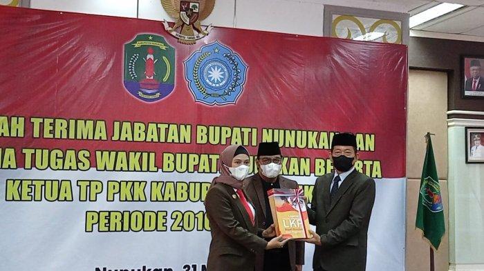 Kepemimpinan Asmin Laura- Faridil Murad Berakhir, Sekda Serfianus Plh Bupati Kabupaten Nunukan