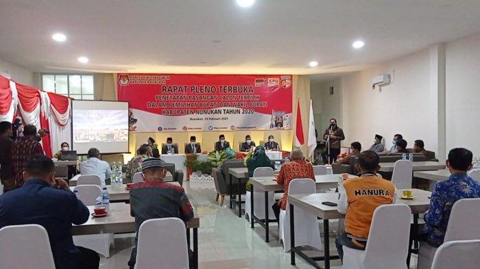 Ditetapkan Jadi Wakil Bupati Nunukan Dampingi Asmin Laura, Hanafiah: Tak Ada Lagi Kubu-kubu
