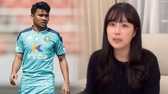 Kenalkan Luna, Penerjemah Cantik Pendamping Bintang Timnas Indonesia Asal Makassar Asnawi di Korea