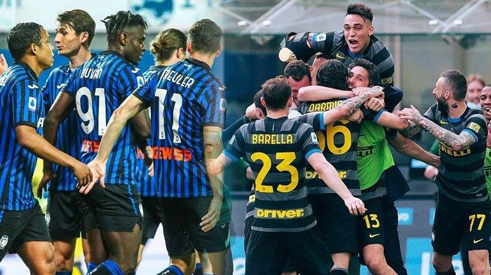 Klasemen Liga Italia, Inter Milan Minus 5 Poin Menuju Scudetto, Atalanta Gusur AC Milan dan Juventus
