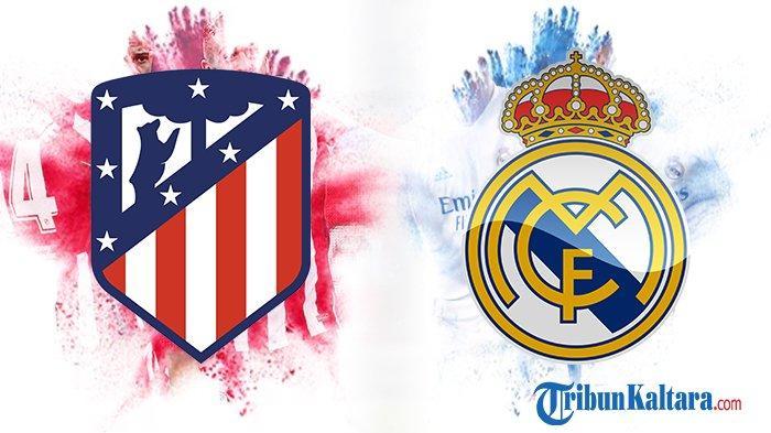 Live Streaming TV Online Atletico vs Real Madrid Big Match Liga Spanyol di beIN Sports dan Vidio.com