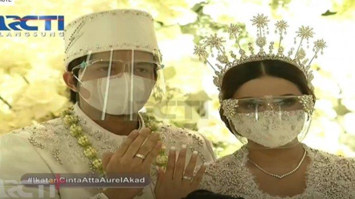 Atta Halilintar dan Aurel Hermansyah Resmi Jadi Pasangan Suami Istri, Maskawin Rp 342.021
