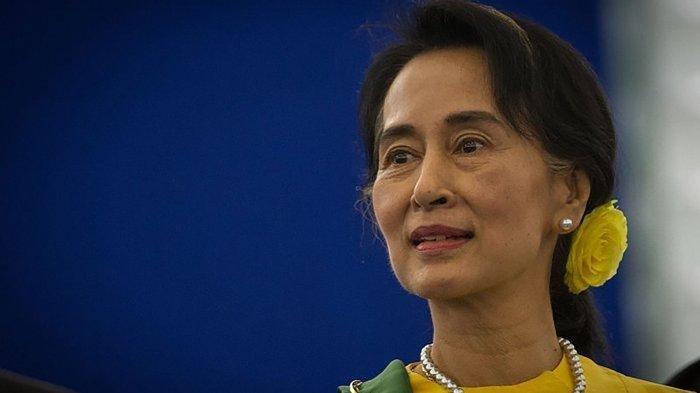 Sosok Aung San Suu Kyi, Pemimpin Myanmar yang Ditahan Militer, Pernah Raih Nobel Perdamaian