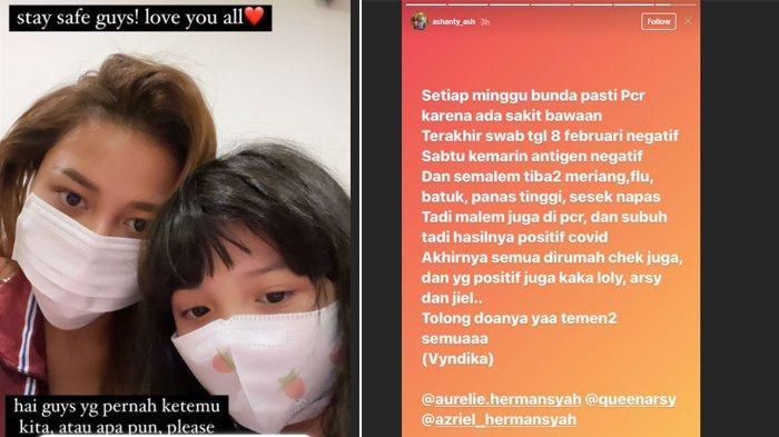 Keluarga Hermasnyah Positif Covid-19, Instagram Aurel Banjir Dukungan: Cepat Sembuh Calon Pengantin