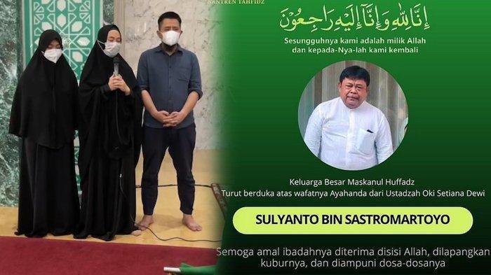 Ustaz Yusuf Mansur Beberkan Alasan Makamkan Ayah Oki Setiana Dewi di Pesantren Miliknya