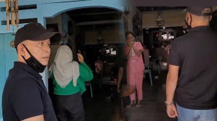 Ayah Rozak dan Umi Kalsum mendatangi rumah haters yang diduga menghina Ayu Ting Ting dan Bilqis, di Tondomulo, Bojonegoro, Jawa Timur, Rabu (28/7/2021). (Kolase TribunKaltara.com / Instagram @mom_ayting92_)
