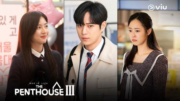 The Penthouse 3: Bae Ro Na, Seok Hoon dan Eun Byeol.