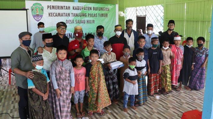 Keluarga Besar Pemuda Sulawesi Selatan Kaltara Bantu Sunatan Massal di Desa Sajau Hilir