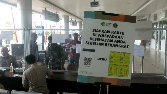 Aktivitas di Bandar Udara Juwata Tarakan. Nantinya aka disiapkan layanan vaksinasi permudah penumpang yang ingin terbang.