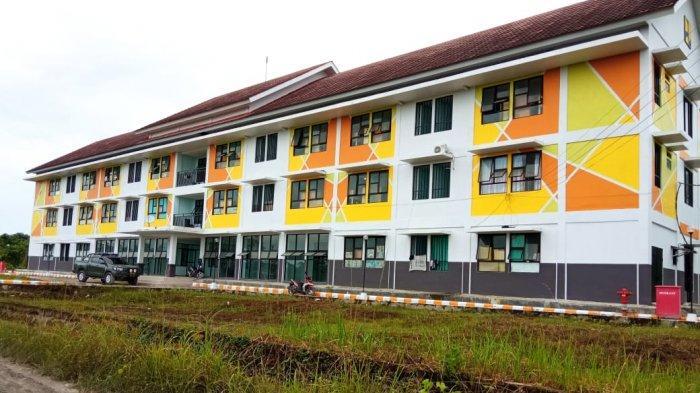 Bangunan Rusunawa di Jalan Sengkawit, Tanjung Selor yang digadang akan menjadi lokasi karantina Covid-19 (TRIBUNKALTARA.COM / MAULANA ILHAMI FAWDI)