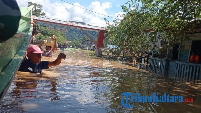 Waspada Banjir Susulan, BMKG Prediksi Malinau Diguyur Hujan Petir Disertai Angin Kencang Hari Ini